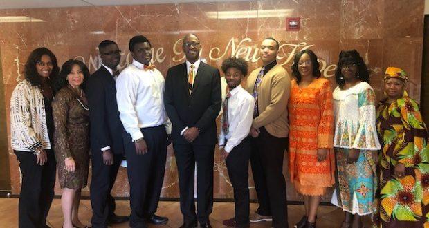 Beautillion Knights Visit New Hope Missionary Baptist Church