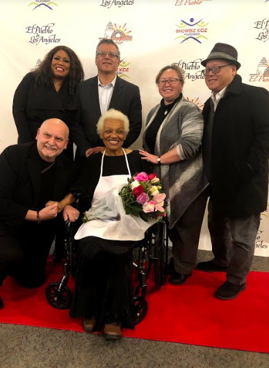 Ted Lange And Barbara Morrison Pay Tribute To Biddy Mason Westside Story Newspaper Online