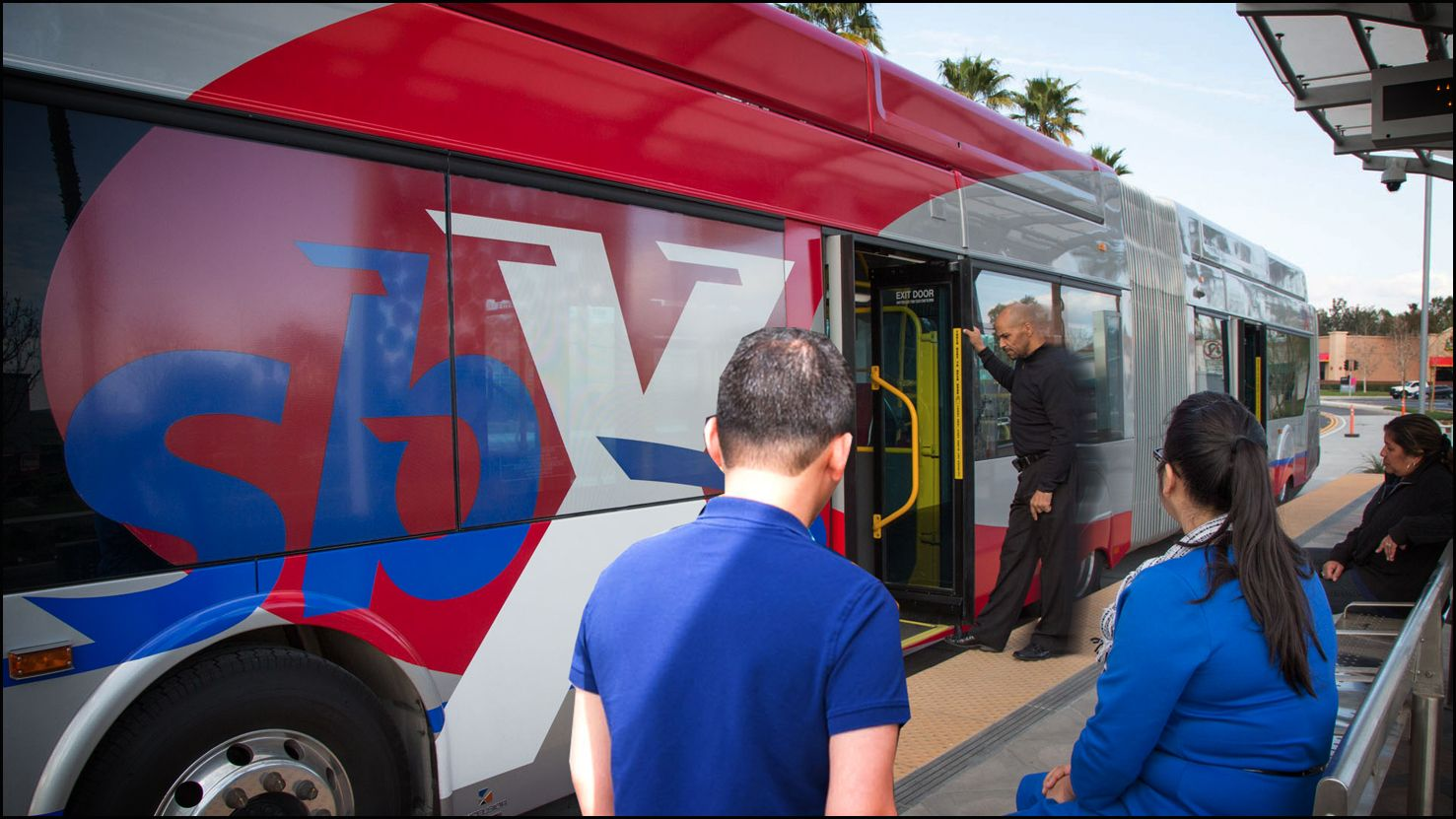 Friends ride free Fridays on sbX rapid transit line