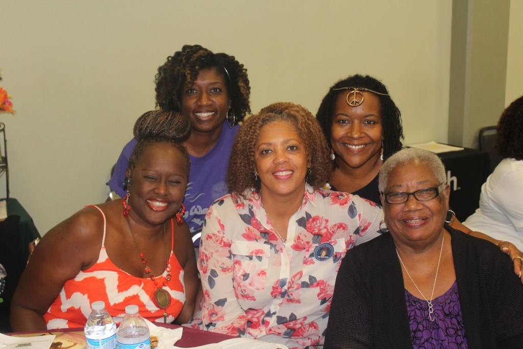 YWE Founder Gwen Rodgers, Rev. Bronica Martindale-Taylor, Yolanda Markham, Sharon Ellis, and Dr. Margaret Hill.