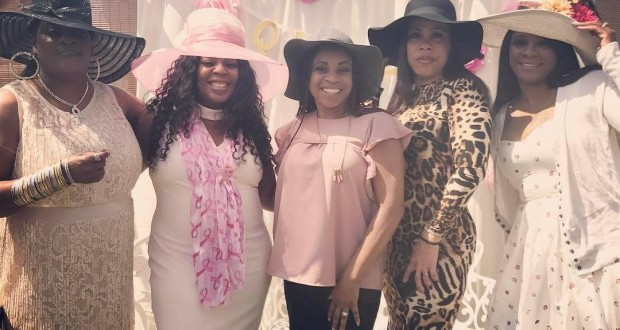 The Queens that attended the 2017 Queens of Radio Brunch (Photo Credit: Katz Carter)