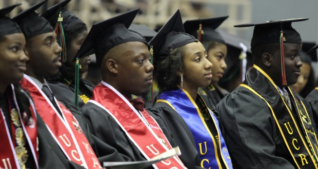 UC Riverside's African American student graduation.